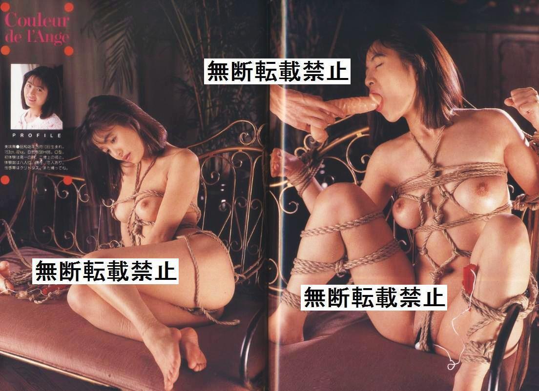1993年smスナイパー  緊縛 画像  S&Mスナイパー 1993年12月号 荒木経惟 SM緊縛 ミリオン出版